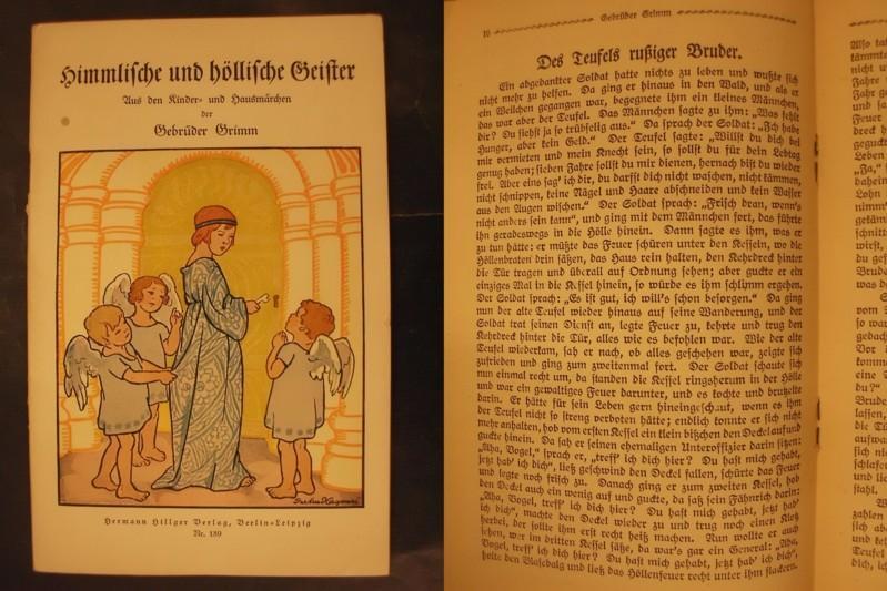 Märchen von himmlischen und höllischen Geistern - Ausgabe A
