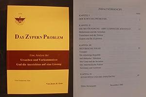 Das Zypern Problem - Eine Analyse der: Zeus, Jesus D.
