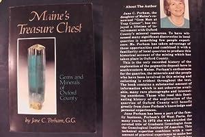 Maine's Treasure Schest - Gems and Minerals: Perham, Jane C.