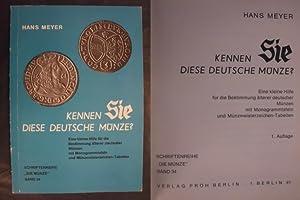 Kennen Sie diese Deutsche Münze?: Meyer, Hans