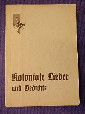 Koloniale Lieder und Gedichte - Zur Verwendung: o.A.