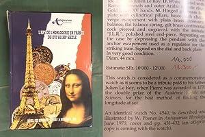 L'Art de L'Horlogerie en France - Chefs-de'Oeuvre: Antiquorum Auctioneers
