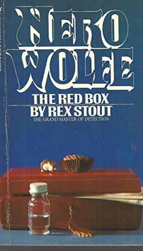 The Red Box A Nero Wolfe Novel: Stout, Rex