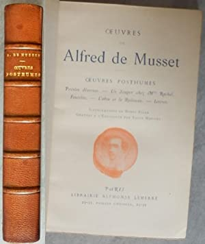 OEuvres Posthumes: DE MUSSET Alfred