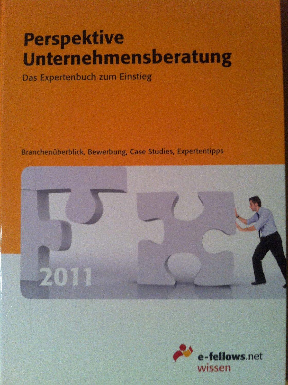 Perspektive Unternehmensberatung 2011: Das Expertenbuch zum Einstieg - Hies, Dr. Michael (Hrsg.)