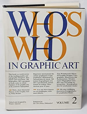 Who's Who in Graphic Art: Walter Amstutz