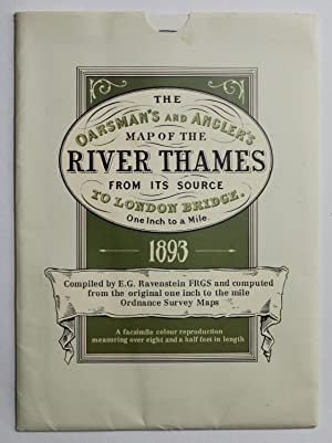 The Oarsman's and Angler's Map of the: Ernest George Ravenstein