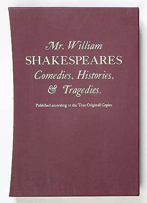 The Norton Facsimile of the First Folio: William Shakespeare; Charlton