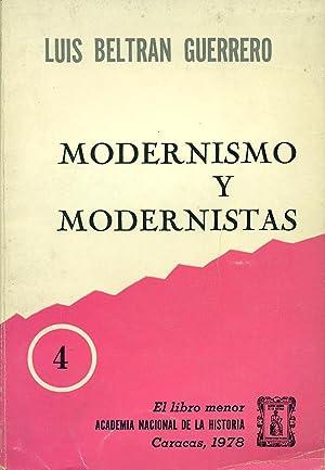 MODERNISMO Y MODERNISTAS: BELTRAN GUERRERO, Luis