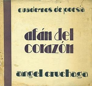AFÁN DEL CORAZÓN. 1925-1932: CRUCHAGA SANTA MARÍA, Ángel