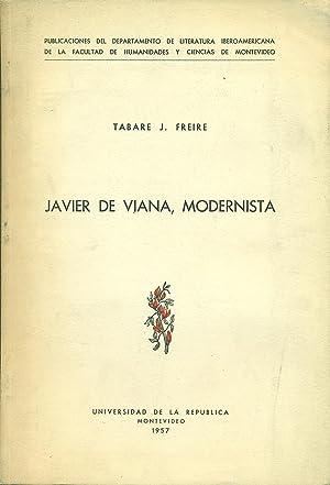 JAVIER DE VIANA, MODERNISTA: FREIRE, Tabaré J.