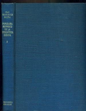 PANORAMA HISTÓRICO DE LA LITERATURA CUBANA. 1492-1952: HENRÍQUEZ UREÑA, Max