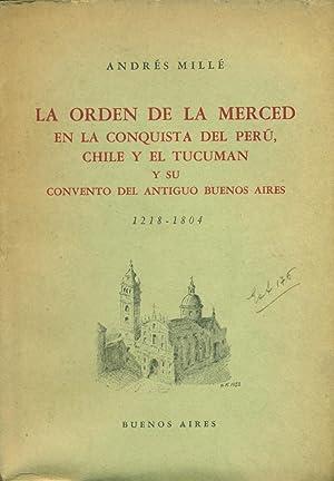 LA ORDEN DE LA MERCED EN LA: MILLÉ, Andrés