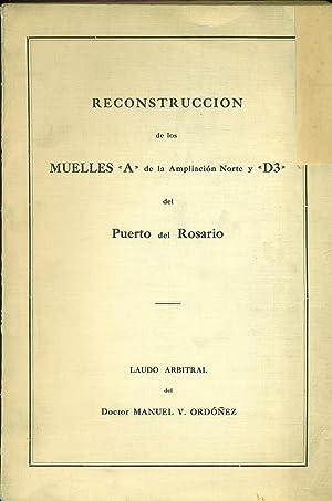 """RECONSTRUCCIÓN DE LOS MUELLES """"A"""" de la: ORDÓÑEZ, Manuel V."""