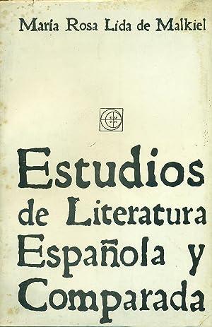 ESTUDIOS DE LITERATURA ESPAÑOLA Y COMPARADA: LIDA de MALKIEL,