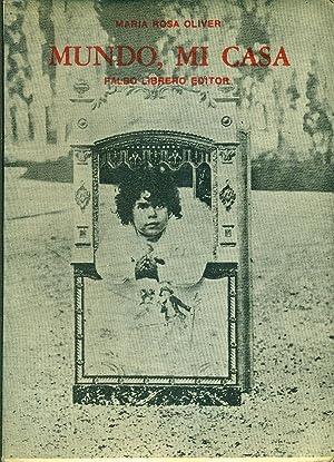 MUNDO, MI CASA (RECUERDOS DE INFANCIA): OLIVER, María Rosa