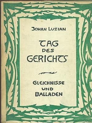 TAG DES GERICHTS. GLEICHNISSE UND BALLADEN: LUZIAN, Johan