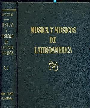 MUSICA Y MUSICOS DE LATINOAMERICA: MAYER SERRA, Otto