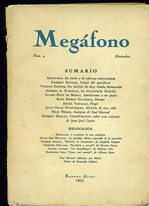 MEGÁFONO. NÚMERO 9: MEGÁFONO,
