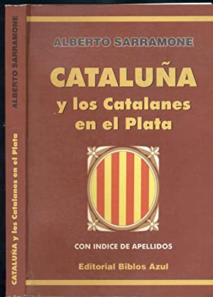 CATALUÑA Y LOS CATALANES EN EL PLATA: SARRAMONE, Alberto