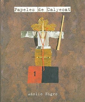 PAPELES DE CALYECAT: NIGRO, Adolfo