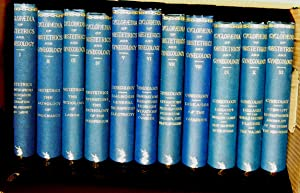 Cyclopaedia of Obstetrics and Gynecology. 12 Vols, lacking vol 12, near mint: Charpentier A. et al