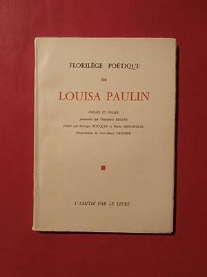 Florilège poétique: Louisa Paulin