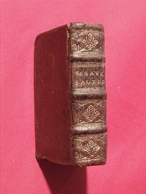 Thesaurus sacerdotum et clericorum locupletissimus: anonyme