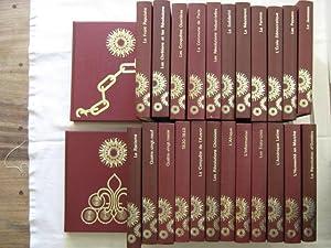 L'humanité en marche, série complète en 25 tomes: collectif