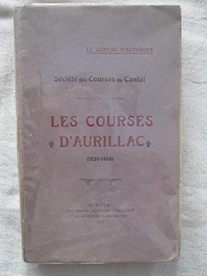 Les courses d'Aurillac (1820-1913): Henri Garnier