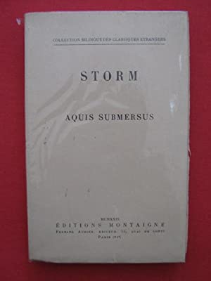 Aquis submersus: Hans Theodor Woldsen Storm