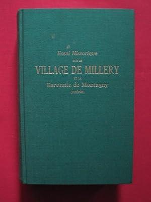 Essai historique sur le village de Millery et de la baronnie de Montagny (Rhône): abbé J. ...