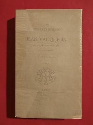Les diverses poésies de Jean Vauquelin, sieur de la Fresnaie, T2: Julien Travers