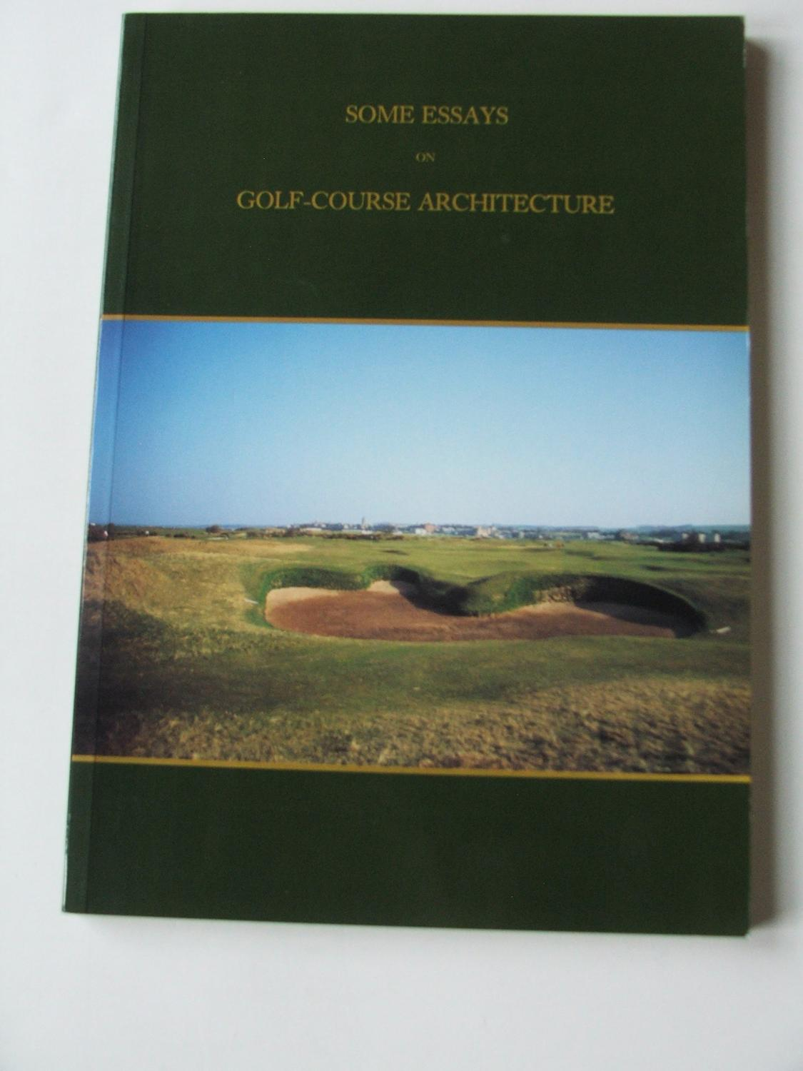 Architecture course essay golf some