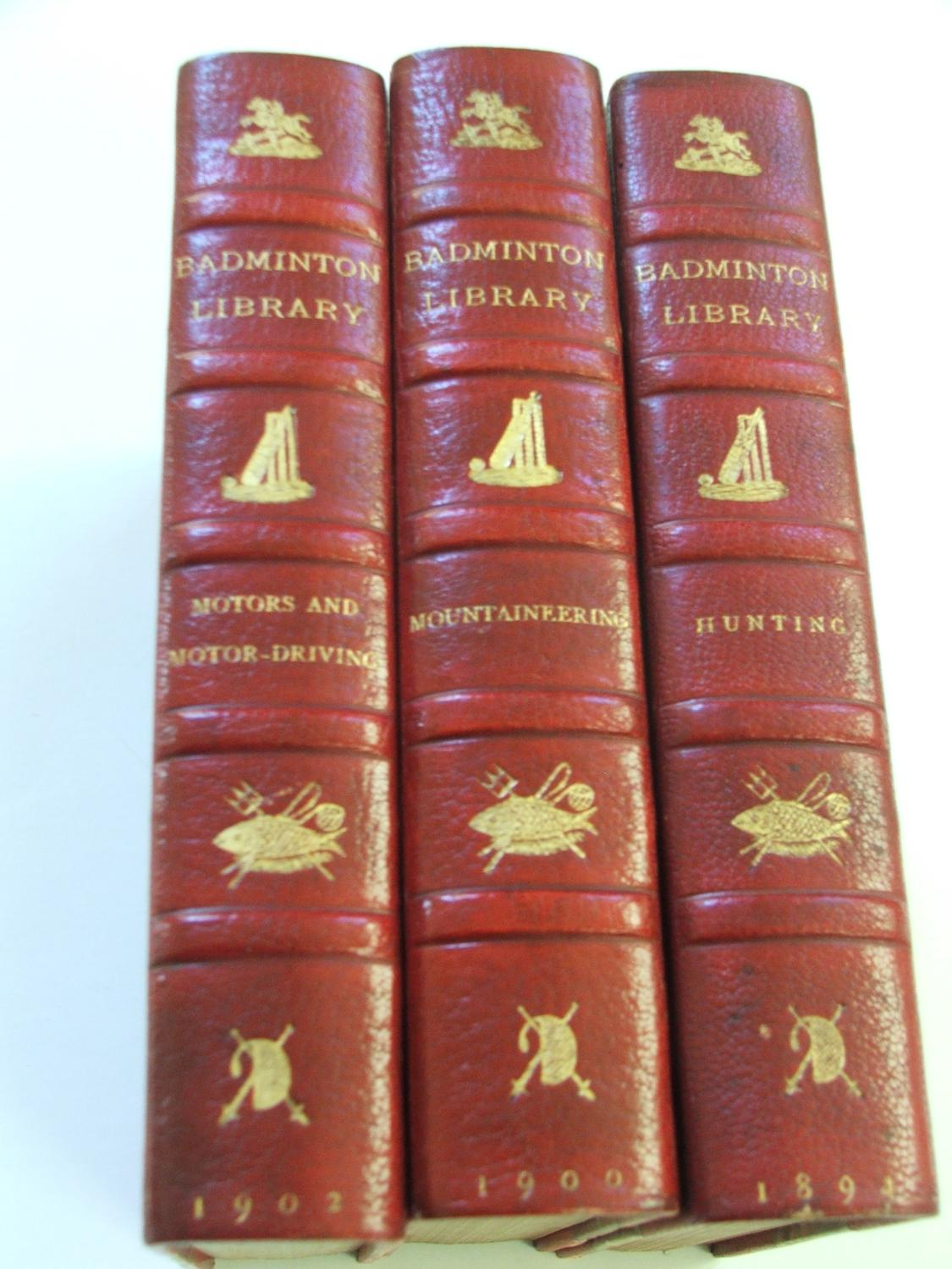 The Badminton Library of Sports and Pastimes (32 volume Set): Beaufort, Duke of (Editor)