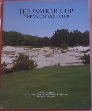 Walker Cup Program - Pine Valley Golf Club 1985 - 30th Match