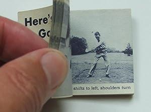Here's Your Free Golf Lesson - Magic Eye Flicker Book Ben Hogan: Hogan, Ben