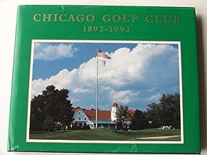 Chicago Golf Club 1892-1992: Goodner, Ross