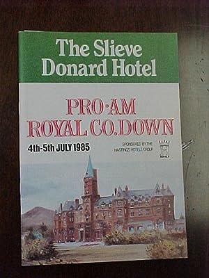 Royal County Down Pro Am Program Golf: Royal County Down Golf