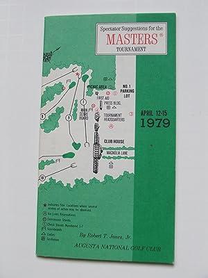 Spectator Suggestions for the Masters Tournament (Golf) 1979: Robert T. Jones Jr
