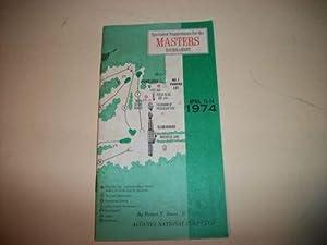 Spectator Suggestions for the Masters Tournament (Golf) 1974: Robert T. Jones Jr