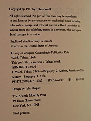 an analysis of the measure of man by tobias wolff An analysis of the power struggle within tobias wolff in on being a real westerner.