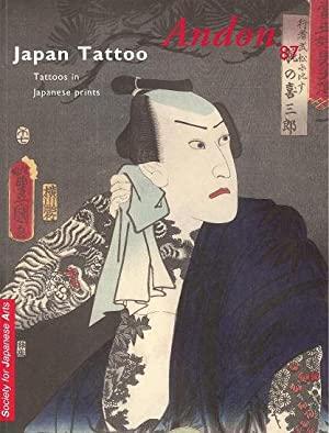 Japan Tattoo, tattoos in Japanese prints (Andon: Willem R. van