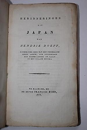 Herinneringen uit Japan: Doeff, Hendrik