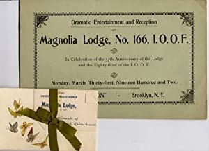 Anniversary announcements (two items): Magnolia Lodge I.O.O.F
