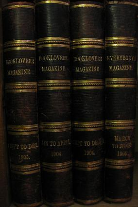 The Booklovers Magazine: Volume III, No. 1, 2, 3, 4,: January, February, March, April 1904
