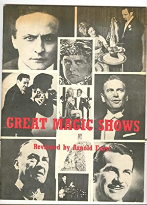 Great Magic Shows Reviewed By Arnold Furst: Furst, Arnold