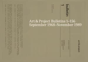 Art & Project Bulletins 1-156: September 1968