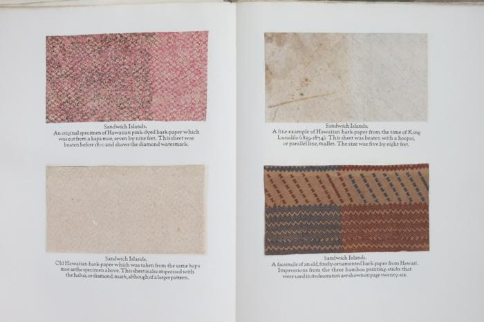 PRIMITIVE PAPERMAKING. An account of a Mexican sojourn and of a voyage to the Pacific Islands in search of information, tools, and specimens relating