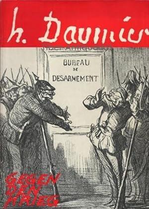 Gegen den Krieg.: Daumier, Honore und